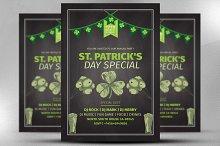 St. Patrick's Day Celebration Flyer