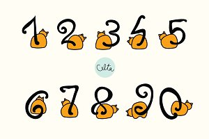 Cat numbers - vectors