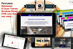 A Complete Food Website with Backend