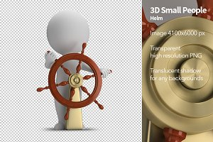 3D Small People - Helm