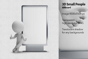 3D Small People - Billboard