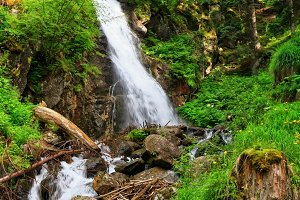 Waterfall in Vermiglio