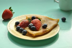 Pancake with berries II