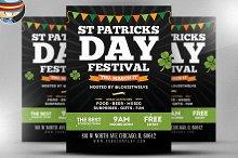 St. Patrick's Day Festival Flyer