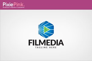 Film Media Logo Template