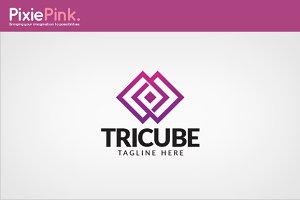 Tri Cube Logo Template