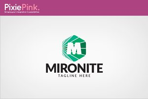 Mironite Logo Template