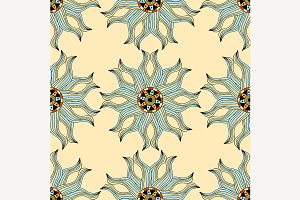 Vintage Seamless patterns.