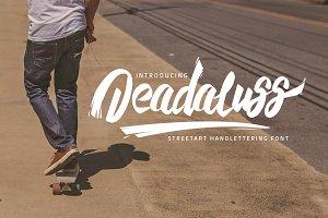 Deadaluss Handmade Font ( 50% off! )