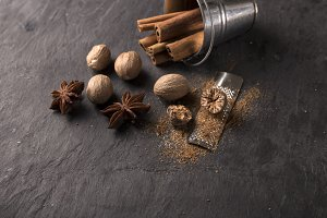 fresh grated nutmeg