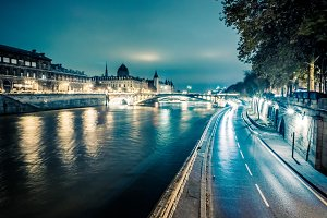 Evening on the Seine