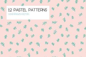12 Pastel patterns