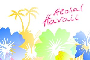 Aloha Hawaii Background