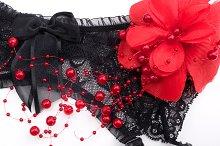 Valentine's Day garter belt