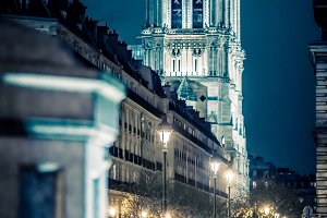Pont d'Arcole & Notre Dame