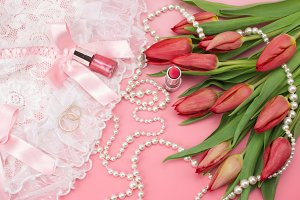 Romantic Wedding woman set