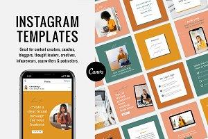 Instagram Canva Templates