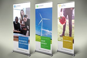 Multipurpose Roll-Up Banners - SK