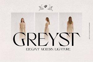 Greyst - Exotic Modern font