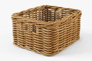 Wicker Basket Ikea Byholma 1 Natural