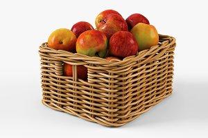 Apple Basket Ikea Byholma 1 Natural