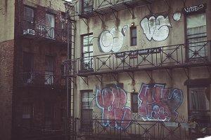 Fire Escape Graffiti