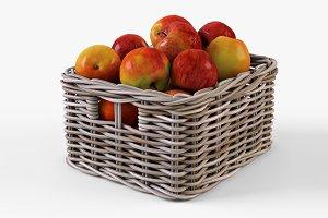 Apple Basket Ikea Byholma 1 Gray