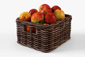 Apple Basket Ikea Byholma 1 Brown