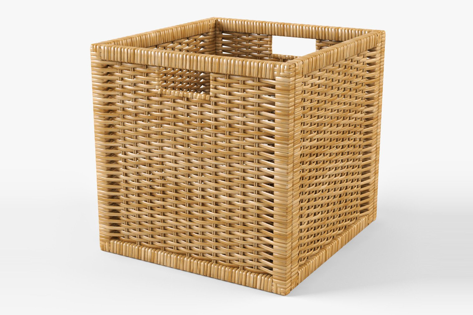 rattan basket ikea branas natural objects creative market. Black Bedroom Furniture Sets. Home Design Ideas