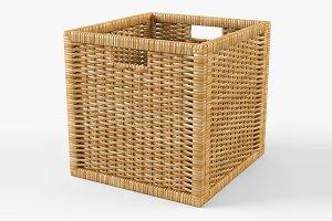 Rattan Basket Ikea Branas Natural