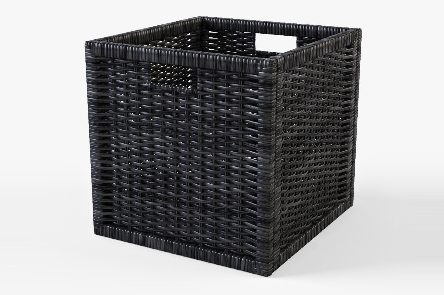 rattan basket ikea branas black objects creative market. Black Bedroom Furniture Sets. Home Design Ideas