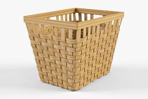 Wicker Basket Ikea Knarra 2 Natural