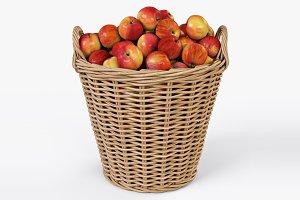 Basket Ikea Nipprig with Apples