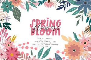 Spring Bloom flowers