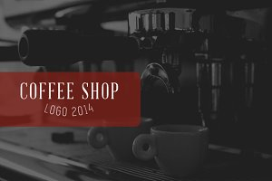 COFFEE SHOP LOGO 2014
