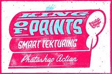 King of Prints • Smart texturing by  in Add-Ons