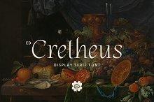 ED Cretheus Display Serif