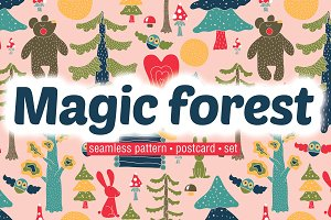 Magic forest.
