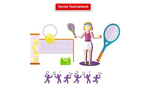 Tennis Tournament Concept