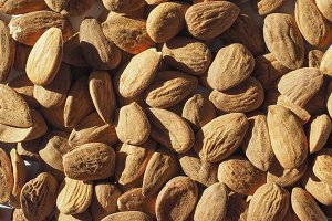 Almonds fruit