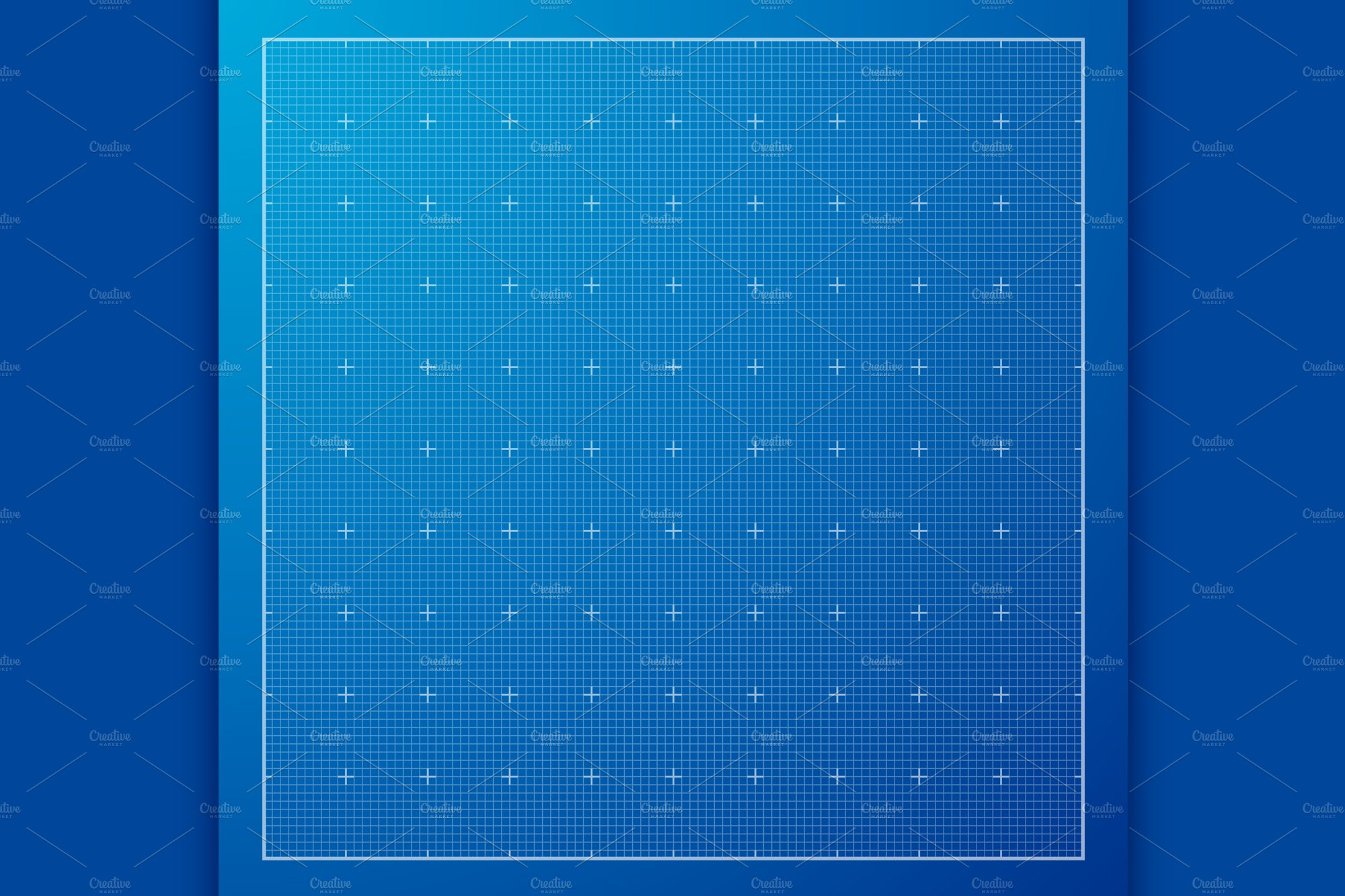Blue graph grid paper background illustrations creative market malvernweather Choice Image