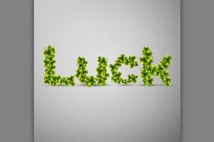Trefoil clover, Luck