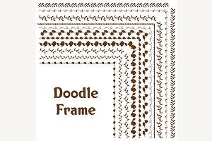 vector frame doodle.