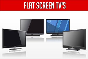Flat screen TV's