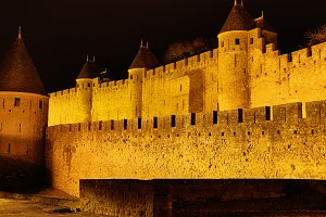 Castle and walls of Carcassonne
