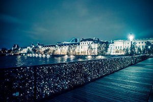 Pont des Arts with Locks
