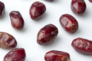 Dry fruit Dates background
