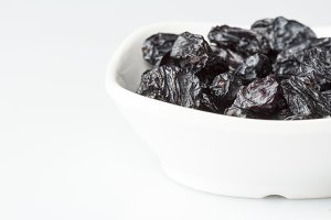 Dry fruit Raisins in bowl