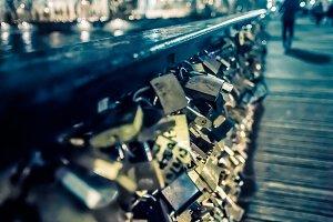 Locks on Pont des Arts