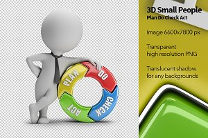3D Small People - Plan Do Check Act